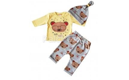 Комплект за бебе Мечо 56-68