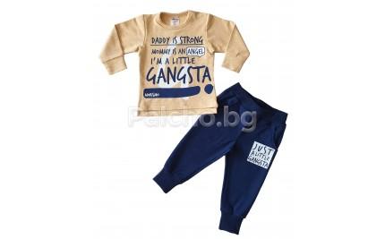 Комплект за момче Little gangsta 80-98