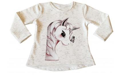 Ватирана блуза Еднорог 86-116