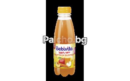 Бебивита сок - Bebivita Плодове и моркови 0,5л.