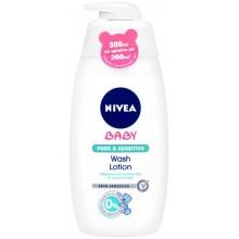 Nivea Baby Pure&Sensitive Измиващ лосион 500мл