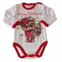 Детско Коледно боди 68-86
