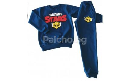 Ватиран комплект за момче Browl Stars 128-158