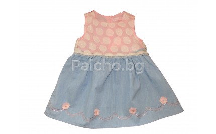 Лятна рокля Лили 12-36 месеца