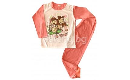 Пижама за момиче 116см