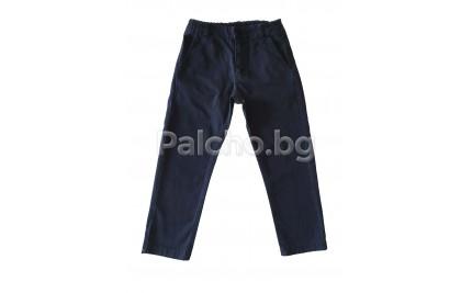 Тъмно син панталон Контраст 98-152