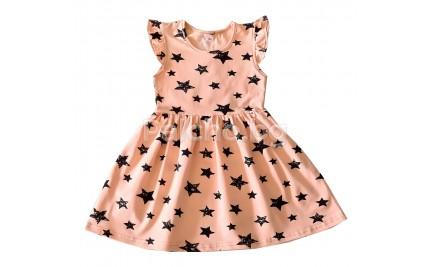 Детска лятна рокля Звезди 104-122