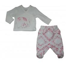 Комплект за бебе Слонче 56-74см