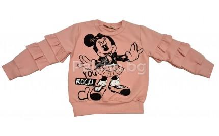 Детска блуза за момиче Мини 92-116