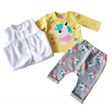 Комплект за бебе Еднорог 56-68