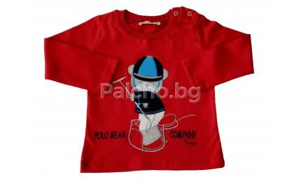 Breeze Boys Детска блуза Мечо 74-98