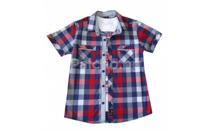 Комплект риза и тениска за момче 140-164
