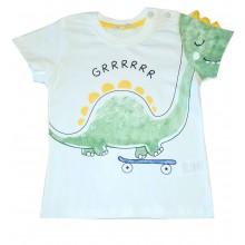 Тениска за момче Динозавър 80-104