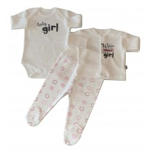 Бебешки комплект 3 части 56-62