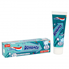 Aquafresh Advance kids Паста за зъби 9-12г. 75мл.