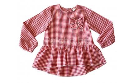 Риза за момиче Контраст 98-152
