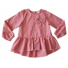 Риза за момиче Контраст 128-152