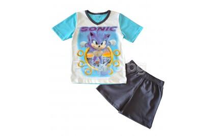 Лятна пипжама за момче Соник 92-128