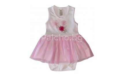 Боди рокля Цветя 62-86