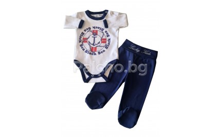 Бебешки комплект Моряче 56-68