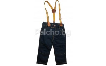 Панталон с тиранти за момче 68-92