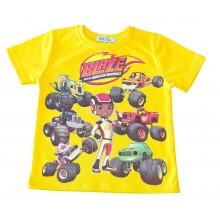 Тениска за момче Пламъчко 86-110