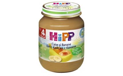 Хип пюре - Hipp Bio Кайсия с банани 125гр.