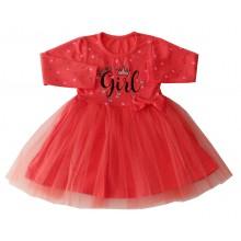 Детска рокля Super girl 80-110