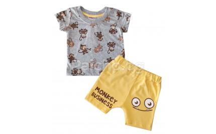 Бебешки комплект Маймунка 62-80