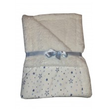 Бебешко одеяло синьо