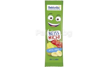 Bebivita Плодов бар Ябълка и Круша 25гр