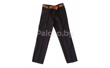 Черен панталон за момче 134-152