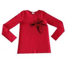 Контраст блуза за момиче Звезда 122-158