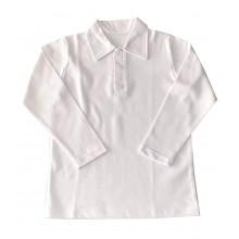 Бяла риза за момче 122-170