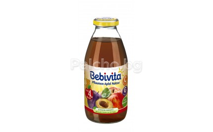 Bebivita Сок Ябълки и сливи 200мл.