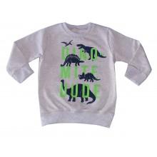 Ватирана блуза за момче Динозаври 92-128