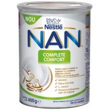 Нестле Нан - Nestle Nan Complete Comfort Адаптирано мляко за кърмачета 0м+ 400гр.