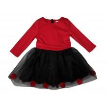 Контраст рокля Червено и черно 74-92