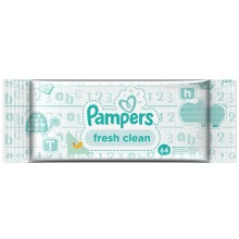 Pampers Baby Fresh Clean - Мокри кърпи Памперс 64бр.