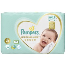 Pampers Premium Care 5 пелени 11-16кг. 44бр.