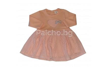 Бебешка рокля Феерия 56-68