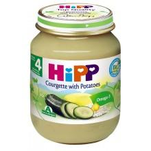 Хип пюре - Hipp Bio Тиквички с картофи 125гр.