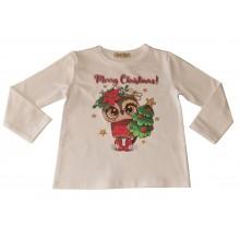 Коледна блузка за Мама и дете 92-XL
