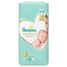 Pampers Premium Care 2 пелени 4-8кг. 46 бр.