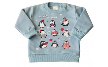 Ватирана блуза Пингвинчета 68-80