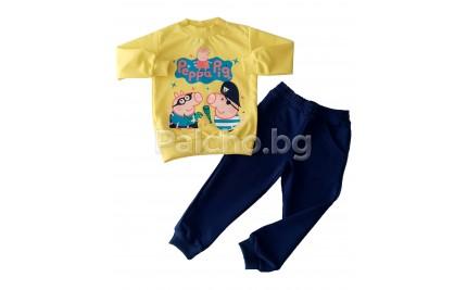 Комплект за момче Пепа Пиг 86-116