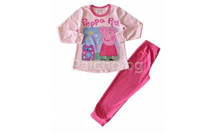 Венера пижама за момиче Пепа Пиг 92-110