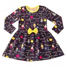 Детска рокля Балеринки 92-122