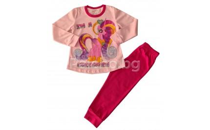 Детска пижама за момиче Еднорог 92-128