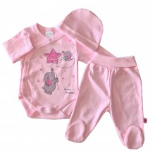 Бебешки комплект Мечо Пух 50-62